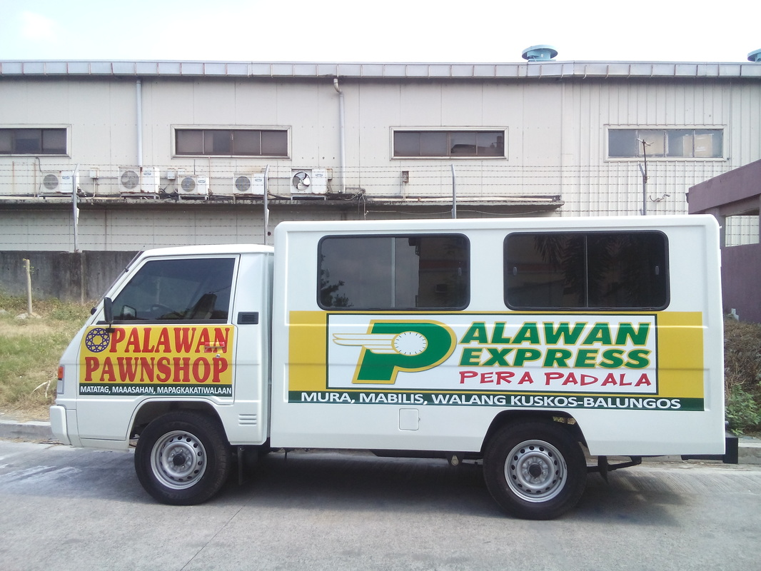 Car sticker maker philippines - L300 Vehicle Wrap