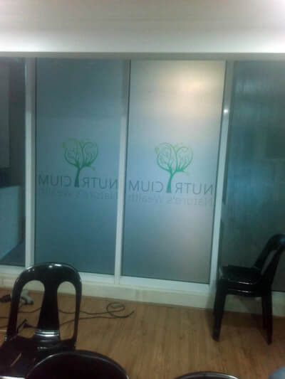 frosted glass sticker supplier